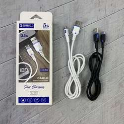 QC3.0 Fast USB cable for iphone for Samsung for Huawei micro