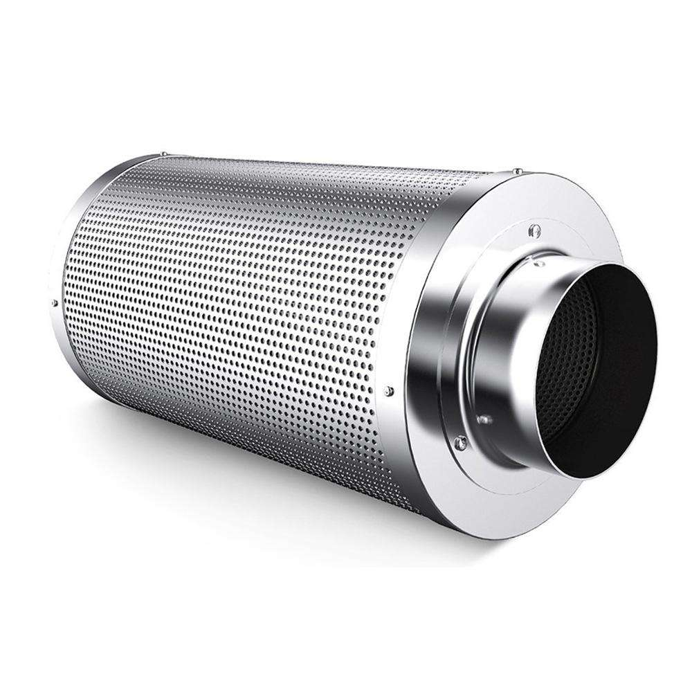 All sizes customized high quality Hydroponic Ventilation active air filter round activated carbon block filter