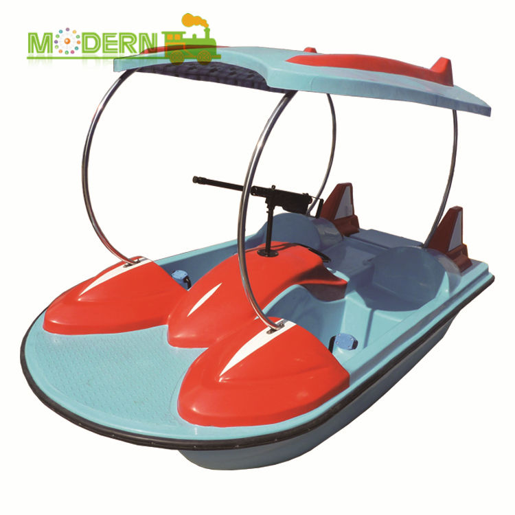 4 seats rental plastic sea used bike car electric adult aquatoy used fiberglass water pedal boat for sale kids with pedal