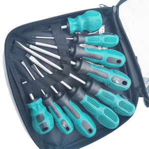 9 Pcs Magnetic Tip Screwdriver Set Kit With Tool Bag