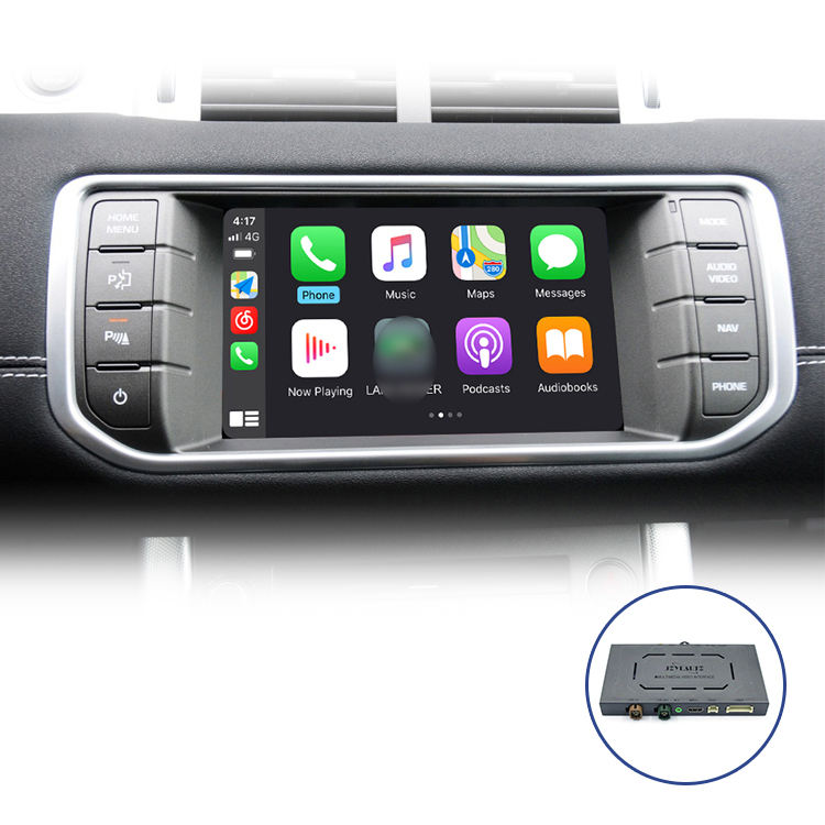 JoyeAuto multifuction wirelss carplay interface for Range Rover Evoque Android Auto support front/ rear camera