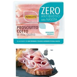 Cooked Ham Zero - Bulk cooked ham - 100% Made in Italy - Selected pork - Plant extracts - Parmacotto brand