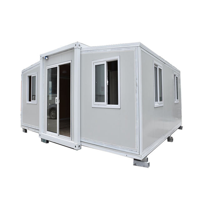New Portable 20ft prefab expandable foldable container house(Bathroom, kitchen) prefab houses for sales