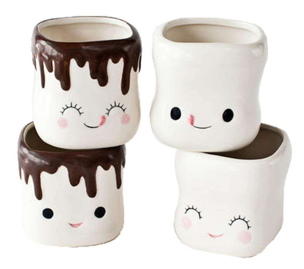 2020 hot sales ceramic marshmallow mug