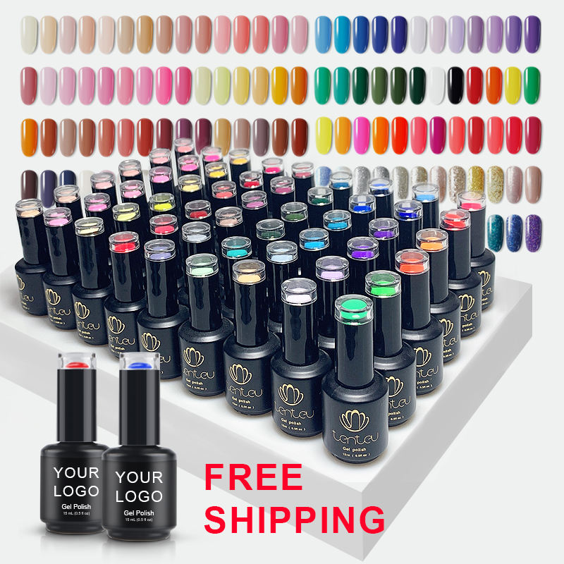 Private label gel polish set nagellack produkte salon kosmetik uv gel nagellack