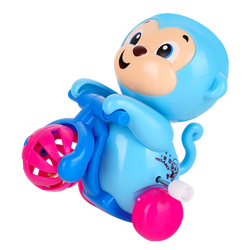 1-1 Customizable Plastic Wind Up Toys Little monkey on the chain