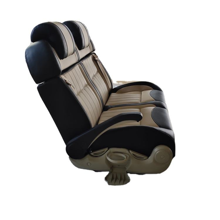 Gold Supplier Fiber Leather Double Seat Universal Automobile Car Seat