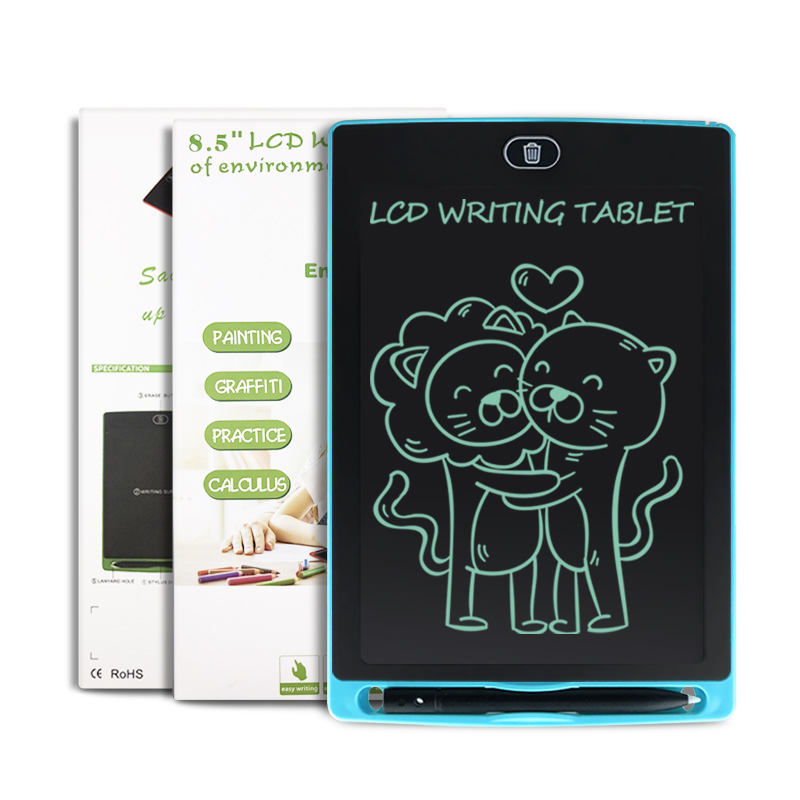 Newyes Wholesale Writing Tablet Board Lcd 8.5 Inch Digital Electronic Blackboard For Children