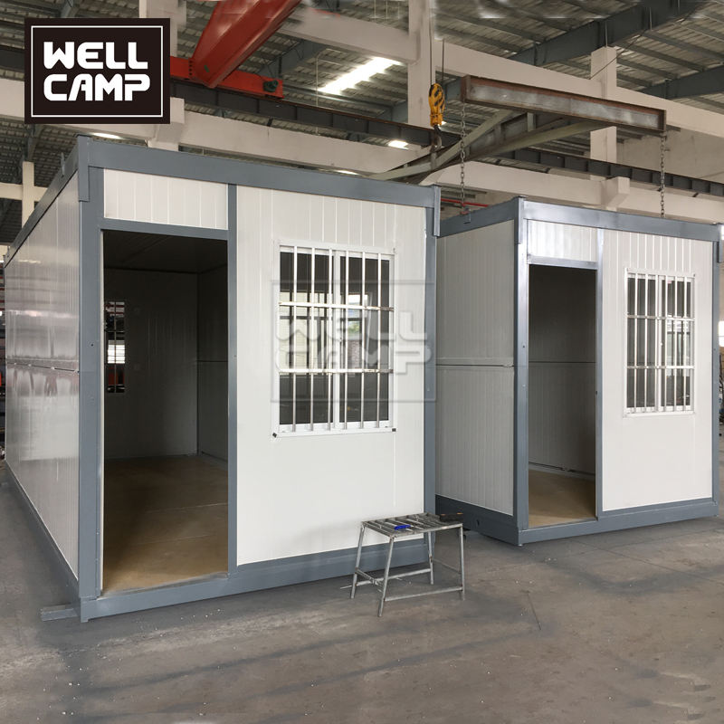 4 Minutes Can Install Portable Cabin Container House Porta Cabin