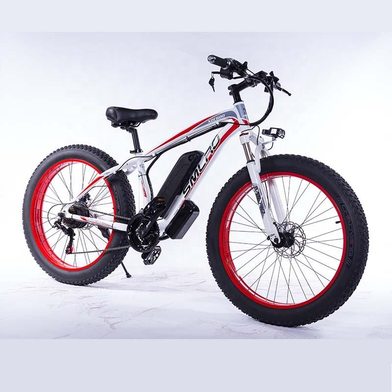 Cheap 26inch Electric bike 500W 13Ah Battery 4.0 Fat Tire Electric Bicycle 48V motorbike Adult e-bike Mountain e bike