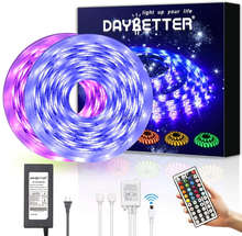10m music sync smart Flexible Waterproof SMD 5050 Strip Lights dimmable 12v RGB Led Strip Light