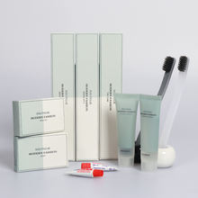 Cheap hotel amenities high quality bathroom kits disposable toiletries supplies for guest