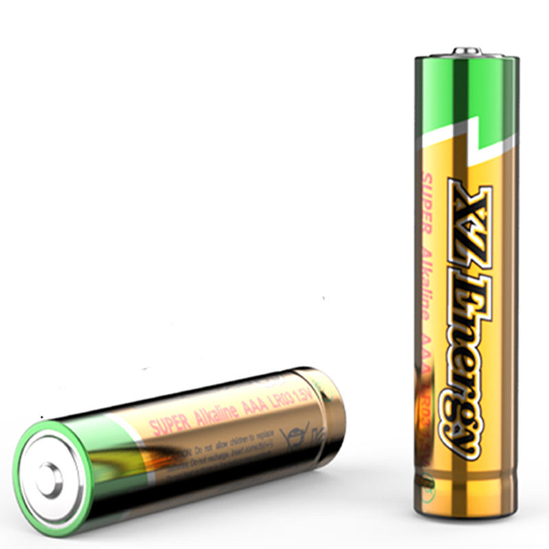 Zn/mno2 Cell Battery Alkaline Battery Wholesale Suppliers 1.5V LR03 No.7 Dry Cell Alkaline AAA Batteries