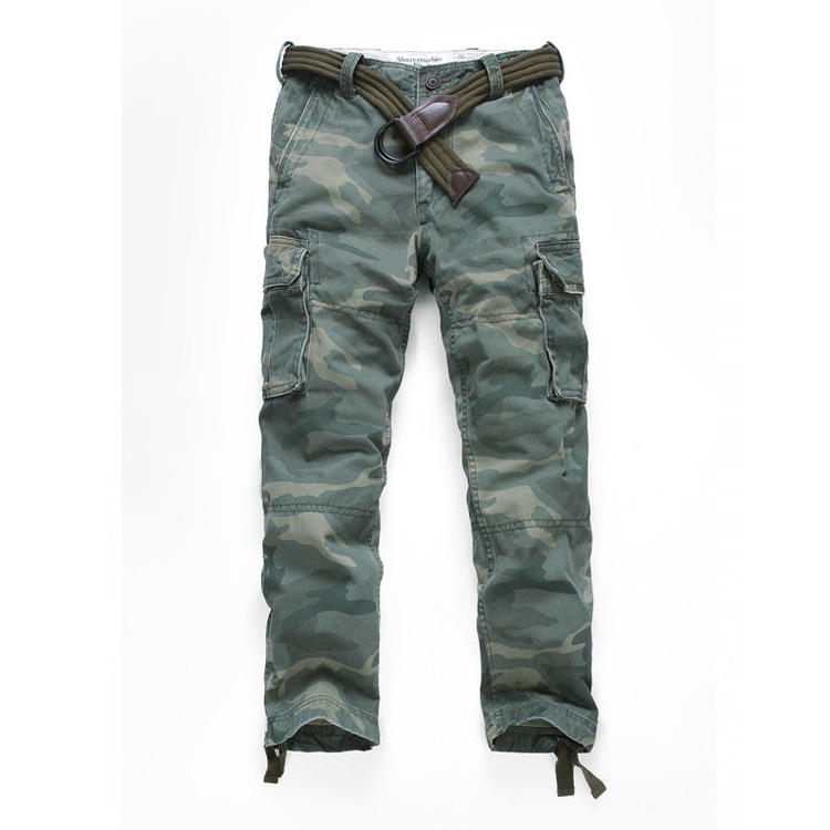 Wholesale fashion military cotton cargo pants mens plus size pants winter warm cargo pants streetwear with 6 pockets