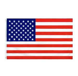 Wholesale 100% Polyester 3x5ft Stock US United States Of America USA American Flag
