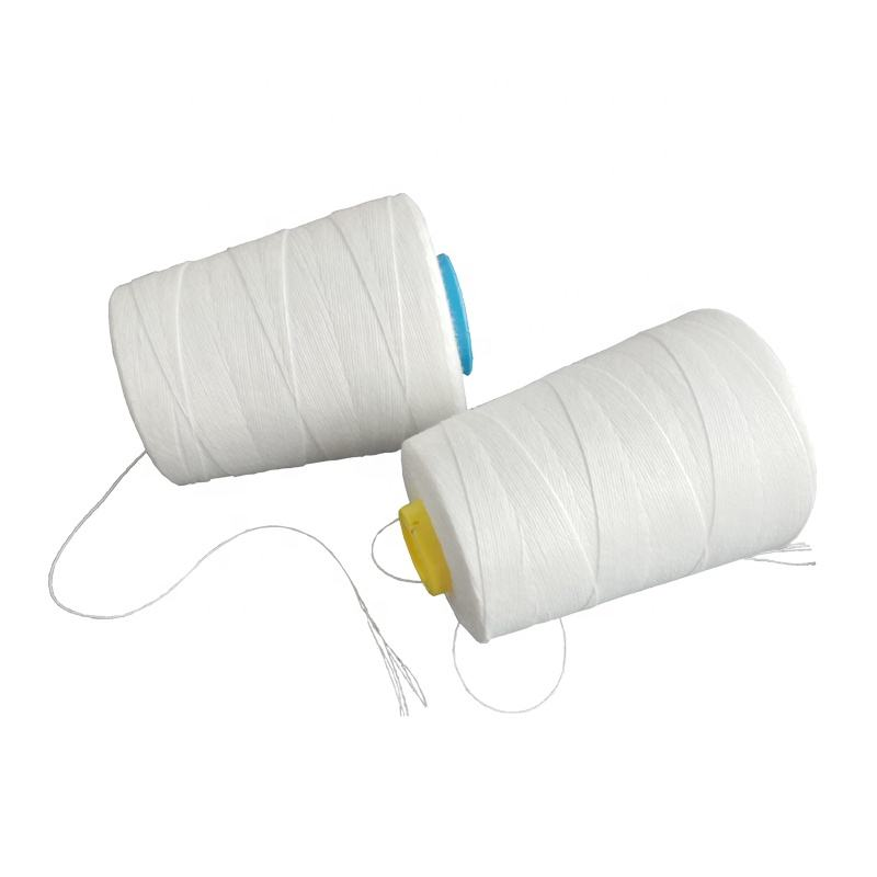100 polyester bag closing thread sewing, sack sewing thread 10kg/rol, 8kg/roll