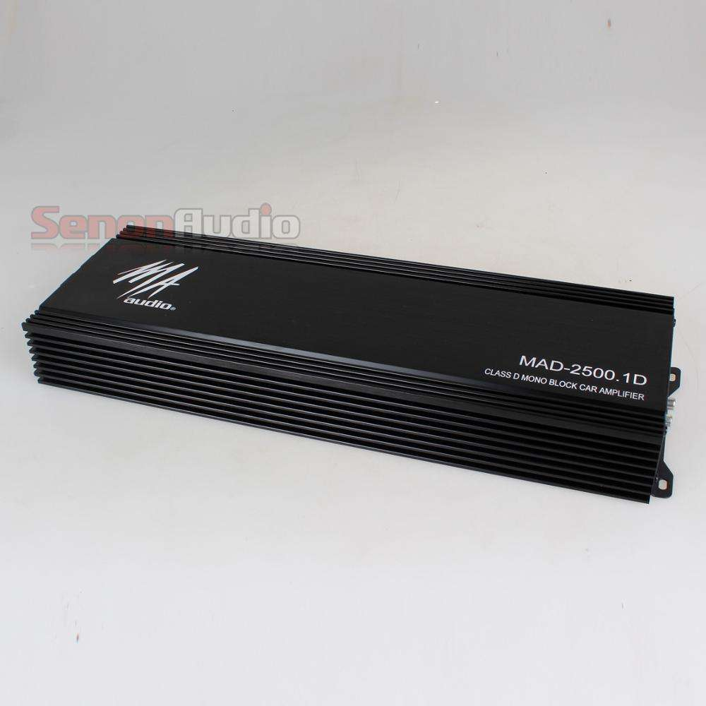 1 Channel Power Class D Amplifier Car Class D Monoblock Amplifier 2500Wrms Car Audio Amplifier