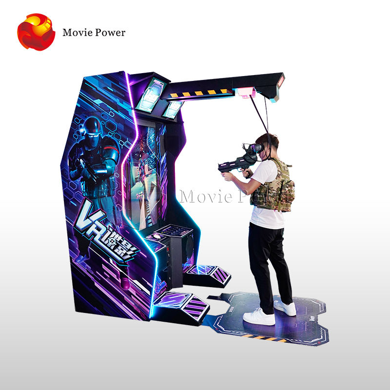 Earn Money Equipment with Interactive 9D Vr Walking Gun Shooting Arcade Virtual Reality Game Machine