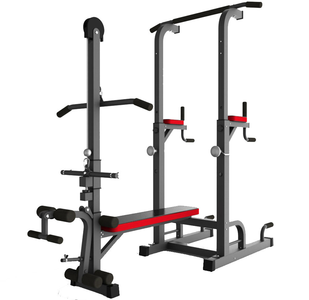 Multi Strength Fitness Equipment Large Comprehensive Gym Equipment Integrated Gym Trainer For Three Station