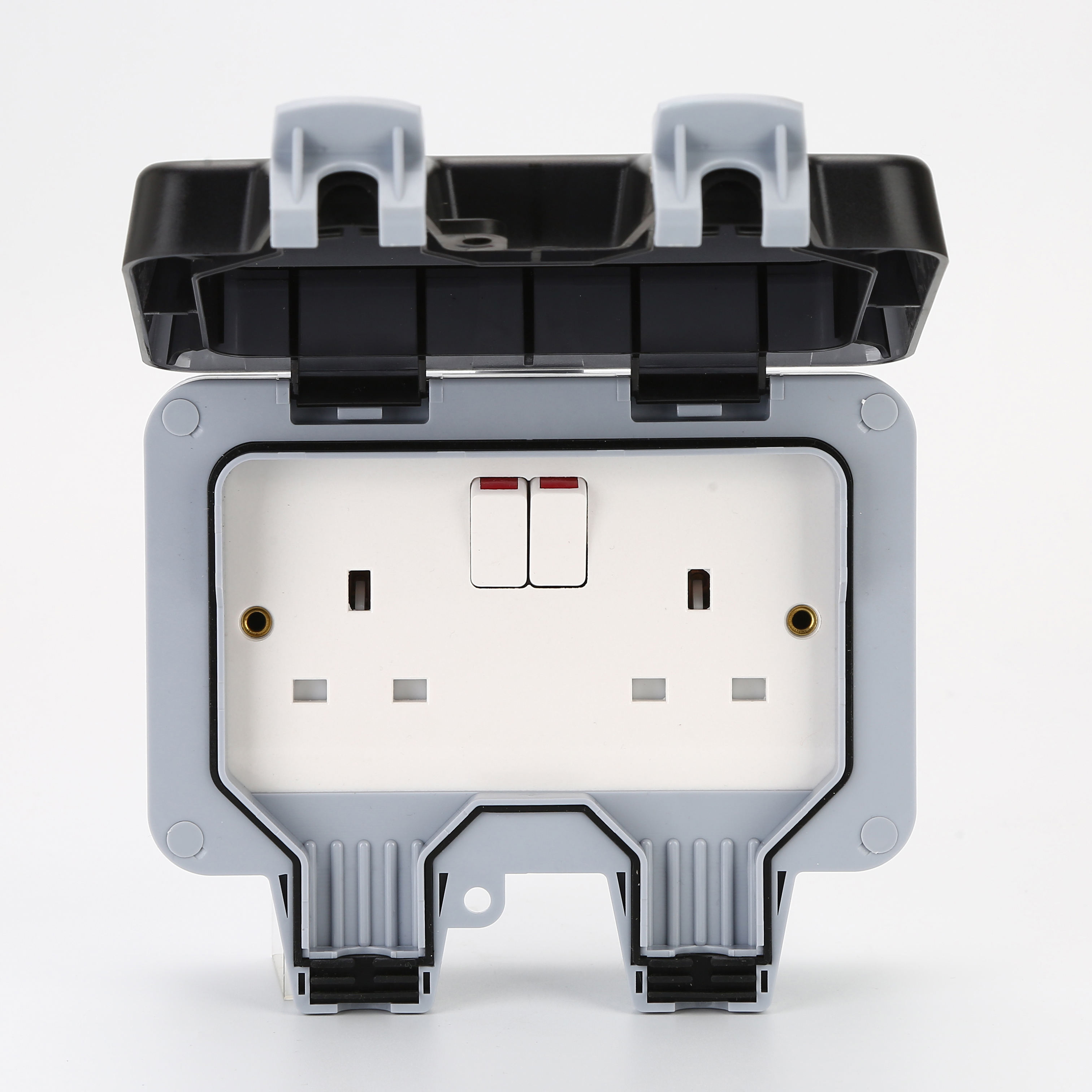IP66 13A Outside Use Waterproof Outdoor Switched Single Socket Box