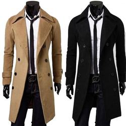 Hot Selling CustomFfit Plus Size Wool Men Coat