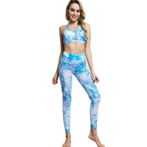 Großhandel OEM Service Frauen Sport Wear Yoga Set Bh Leggings Fitness