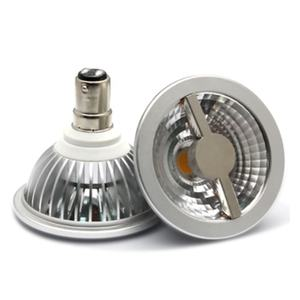 Dimbare DC12V/85-265 V 5W AR70 GU10 Cob Led Spotlight B15 Base Aluminium Behuizing AR70 Led lamp Lamp
