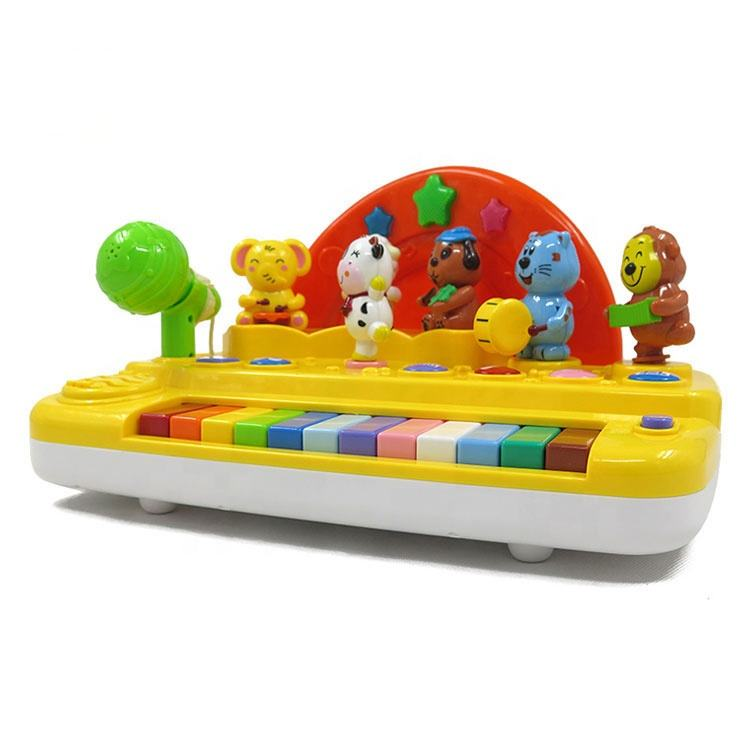 Wholesale Educational Learning Musical Instrument Baby Plastic Piano Toy