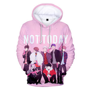 Kpop BTS Hoodie Love Yourself SUGA Jimin Jungkook V Rapmonster Jhope Jin Sweater