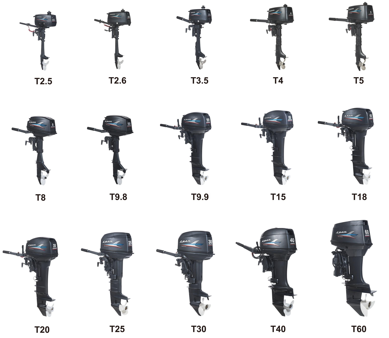 SAIL 2 Stroke Outboard Motor 2.5hp/3.5hp/4hp/5hp/6hp/8hp/9.8hp/9.9hp/15hp/18hp/20hp/25hp/30hp/40hp/60hp