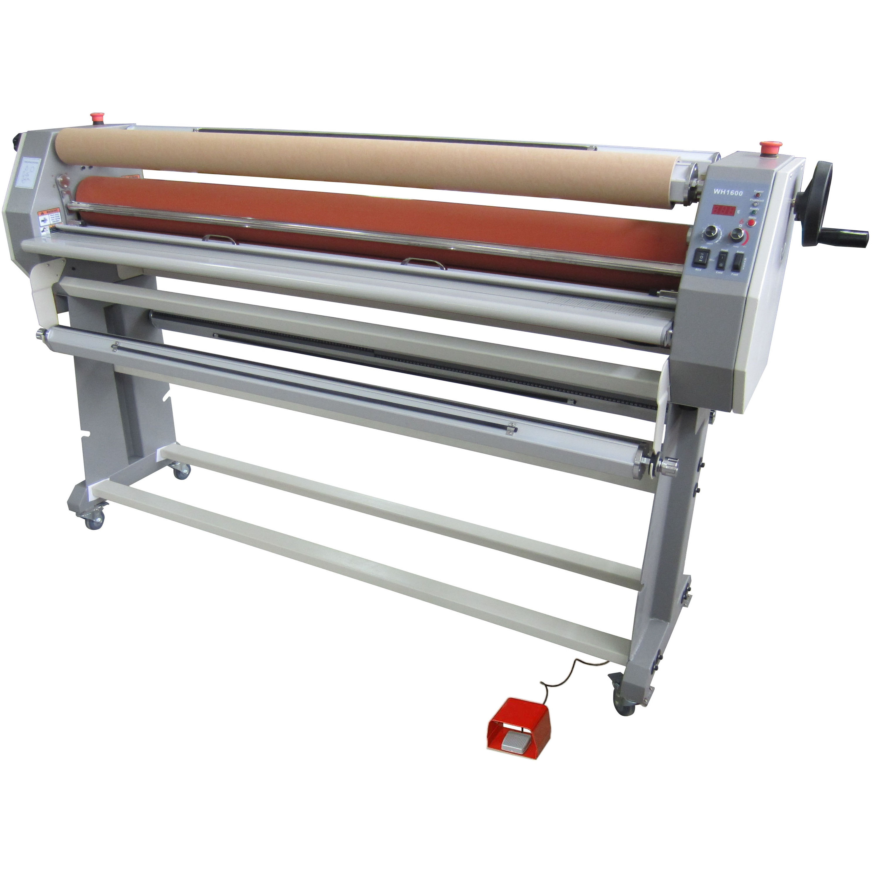 Roll to roll lamination machine wide format laminator top heated laminator 1600