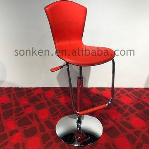 Modern Minimalist Bar Counter Stool Metal Furniture High Bar Chairs for Bar Table
