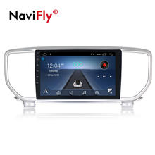 "Navifly 9"" Touch Screen Android 8.1 Quad Core Android Car Dvd Player FOR KIA Sportage KX5 2018 2019 with WIFI GPS RDS Mirrorring"