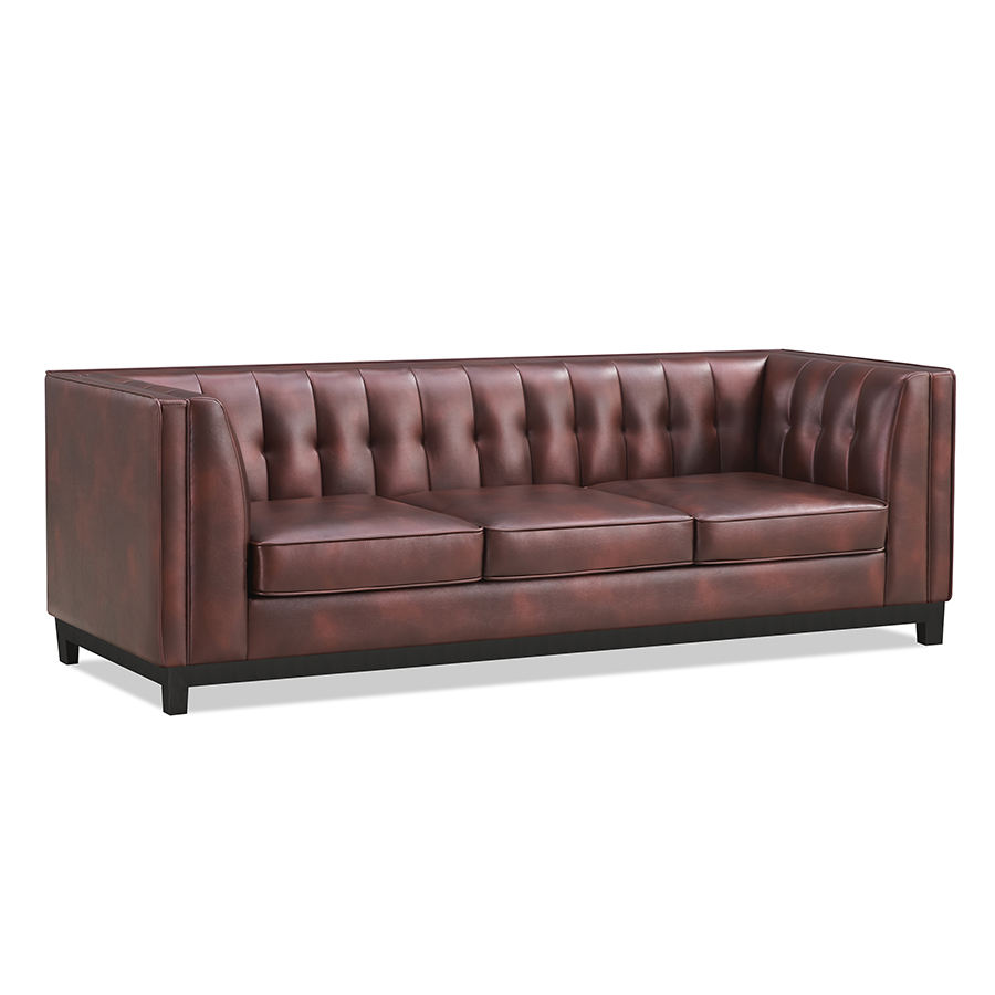 Modern design Leather type living room sofa relaxing lounge sofa with 1/2/3 seat