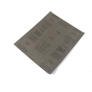 lijas 3m abrasive 1500 wet sand paper sheets 3m with latex backing