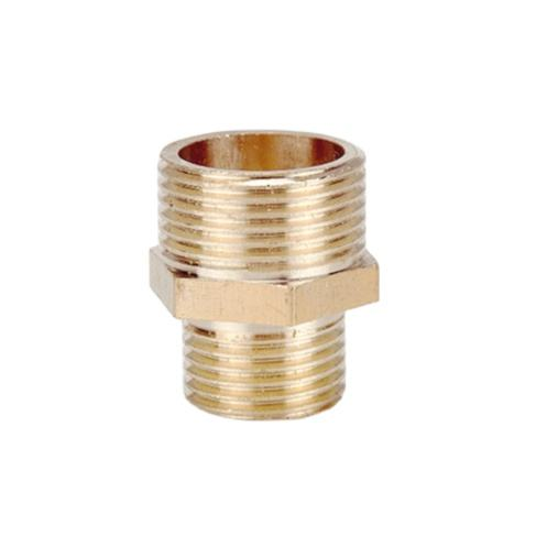 China wholesale brass thread female male weld head auto parts pipe fitting hex reducer bushing