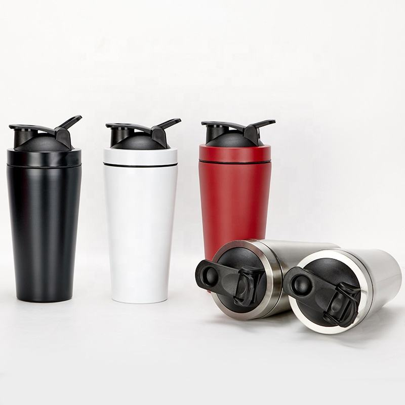 Gym Sports Stainless Steel Protein Shaker Bottle Metal Custom Wholesale Shaker