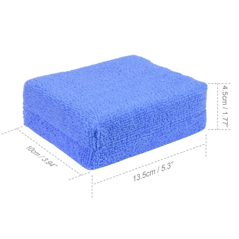 <span class=keywords><strong>Auto</strong></span> Polish Microfiber Applicator Oem Kleur Wax Applicator Pads Krasvrij Waxen Applicator