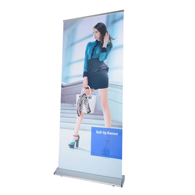 Aluminium 85*200 Intrekbare Roll Up Banner