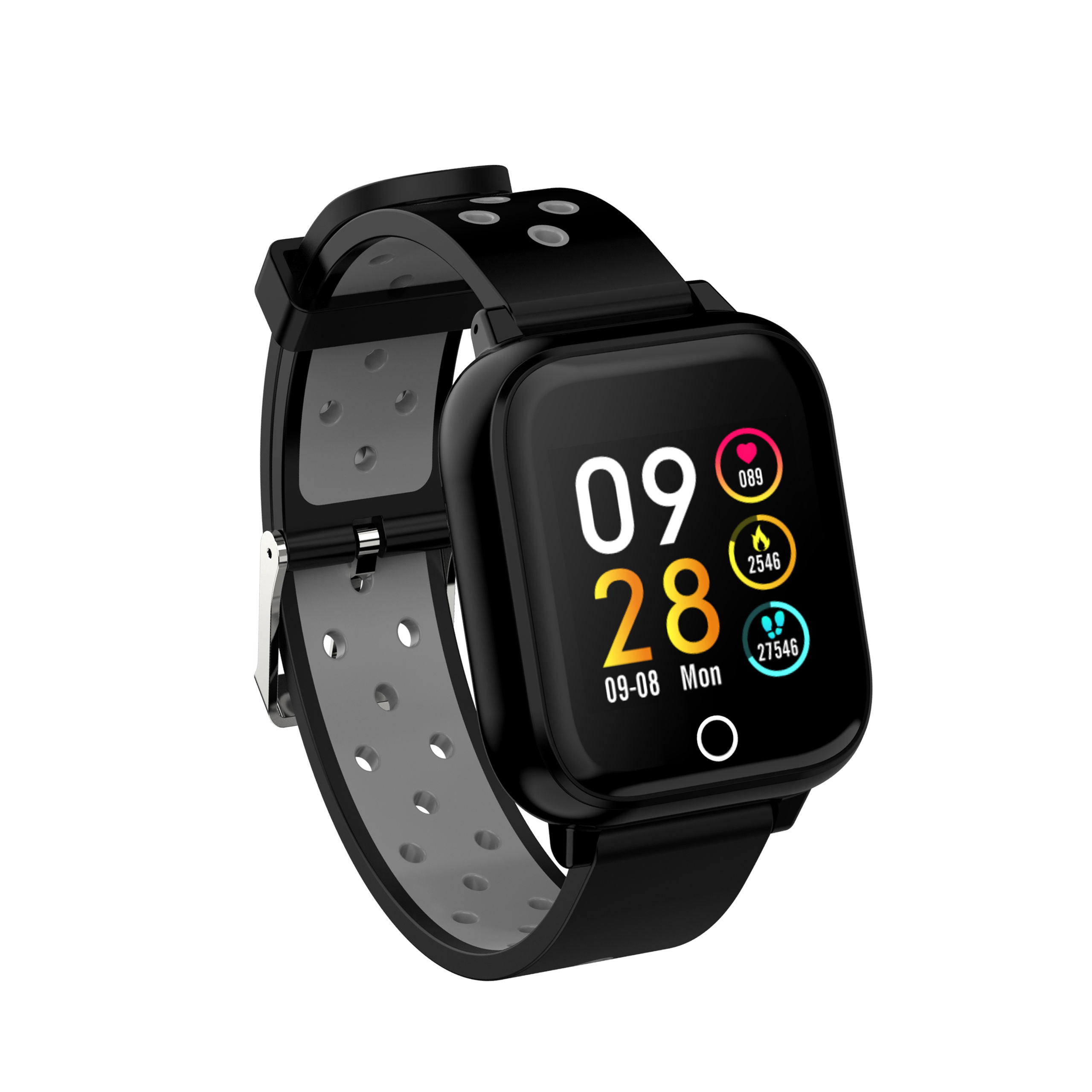 2 in1 wristband luxury ai smart watch wireless bluetooth 5.0 tws two in on earbuds headset