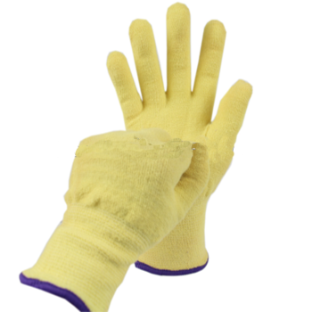 Anti- Cut Para aramid ANSI 4 Cut Resistant FR Fire Resistant Gloves Heat Resistant Work Gloves