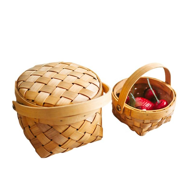 Picnic Storage Bread Wickers Basket For Home Storage and Decoration