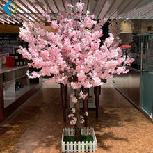 Artificial Wedding Flower Cherry Blossom Tree Can Hanging Led Light