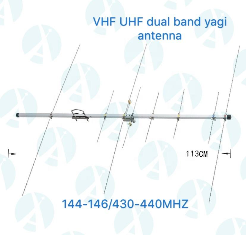 Vhf Uhf Dual Band Yagi Antenne/Outdoor Directionele Beam Antenne