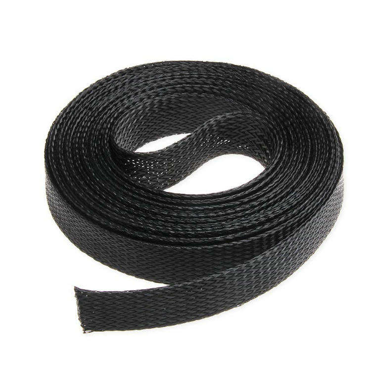 3/4 inch 20mm PET Cable Braided Wiring Sleeve,Wire Sheathing