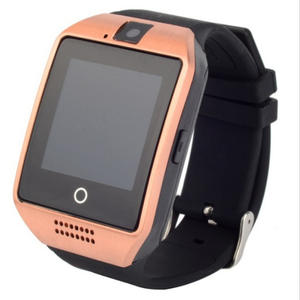 Waterproof Q18 Smart Watch Bluetooth Gsm Sim Phone Camera For Android/Ios New Low Moq Watch