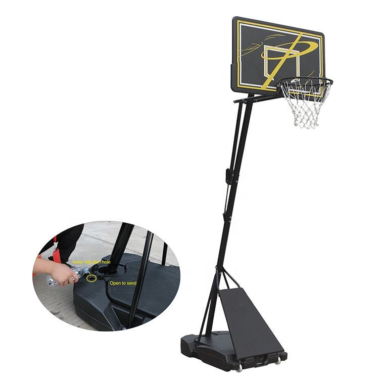 Q519E 2020 Newest Can Hold Water and Sand at The Same Time Basketball Hoop Mini Portable Hot Sale
