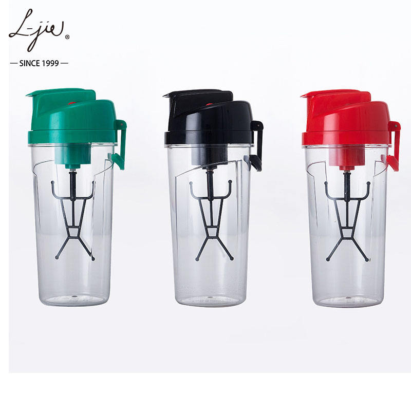 600ml custom logo Promotional Electric Battery Operated Protein Mixing Shaker Bottle for GYM