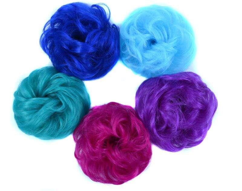 Mengyun Groothandel <span class=keywords><strong>Haar</strong></span> Accessoire Chignon Synthetische Fluffy Golvend Rommelige Knot Chignon <span class=keywords><strong>Pad</strong></span> Elastische <span class=keywords><strong>Haar</strong></span>