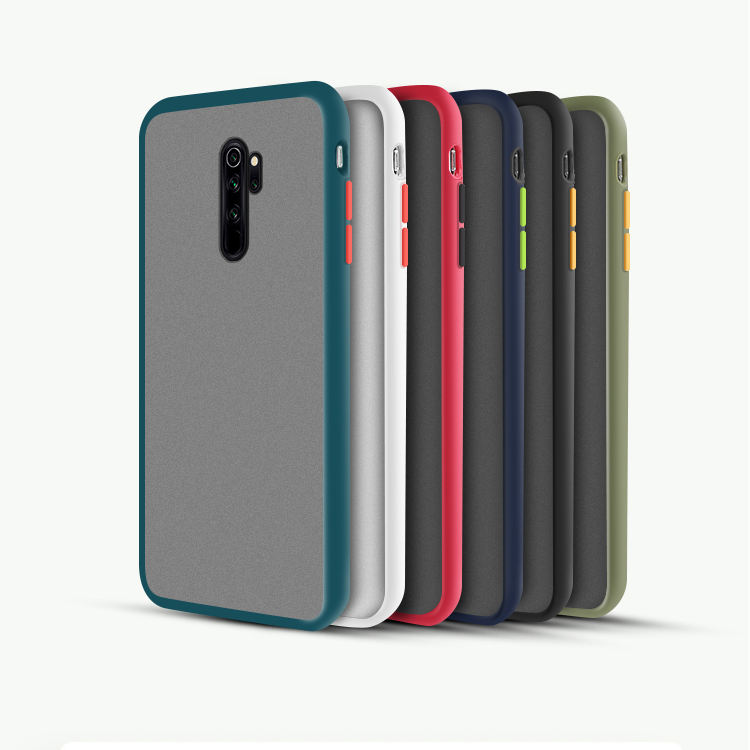 Trending 2020 Color Contrast Frosted PC Touch Feeling Skin Friendly Case For Xiaomi Mi 9 Note 10 Redmi Note 7 8 Pro 8T 7A 8A